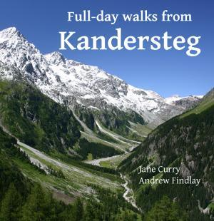 Full-day walks from Kandersteg - front cover
