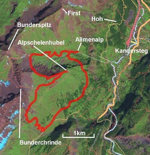 The Alpschelenhubel route